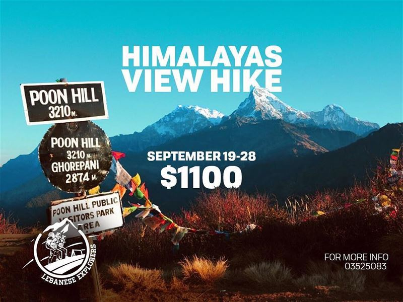 Dear hikers🚶🏻♂️,Are you ready for the hike of the year? We are making... (Poon hill trek Nepal)