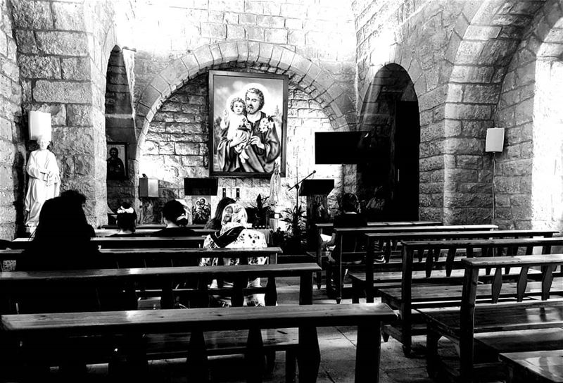 GOD is the best listener you don't need to shout, nor cry out loud.... (Deir Mar Youssef, Mont-Liban, Lebanon)