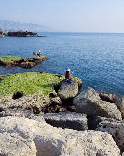 Rhythm of blue 🗺.. livelovebyblos sea blue colors photography... (Jbeil جبيل)