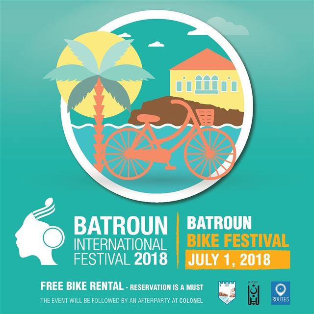 REPOST @batrounfestival 🚴..This is the biggest event for cycling... (Batroûn)