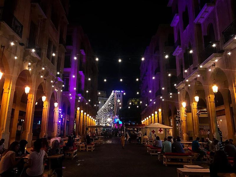 The city that never sleeps  beirut  beirutnightlife  beiruting ... (Downtown Beirut)