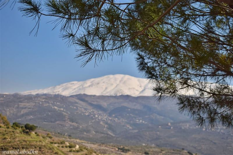 جبل الشيخ......... lebanon photography photographylovers ... (Hasbaya District)