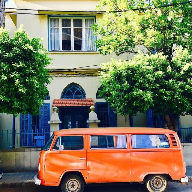 Good morning sunny Beirut ☀️.... beirut lebanon sunny orange ... (Beirut, Lebanon)