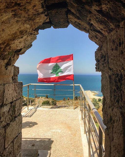 Você sabia que todos os elementos da bandeira do Líbano possuem um... (Byblos - Jbeil)