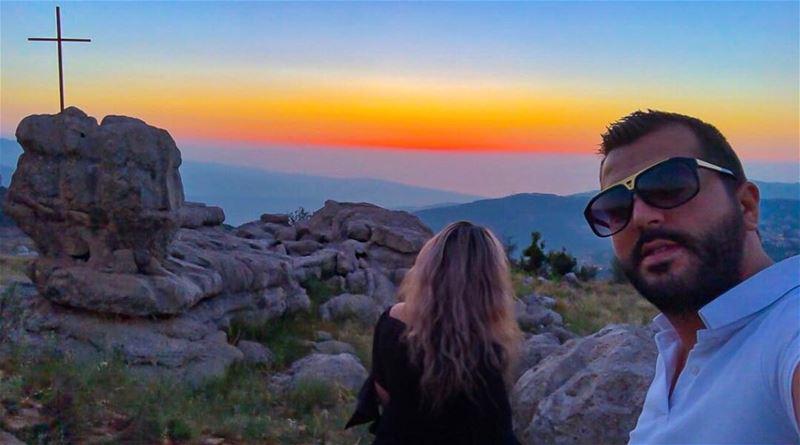 Sunsets & Landscapes🌅 zaarour ontop sunset amazinglandscape ... (Zaarour Club)