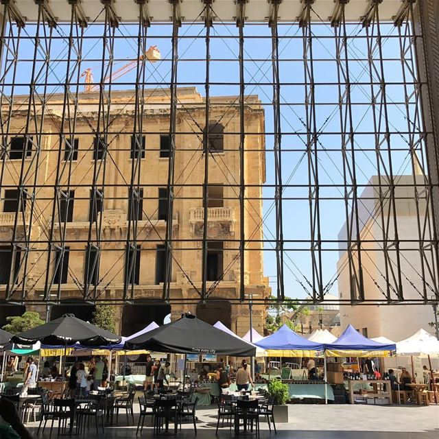 On my way to the souk 😋.... livelovearchitecture beirut lebanon ... (Downtown Beirut)