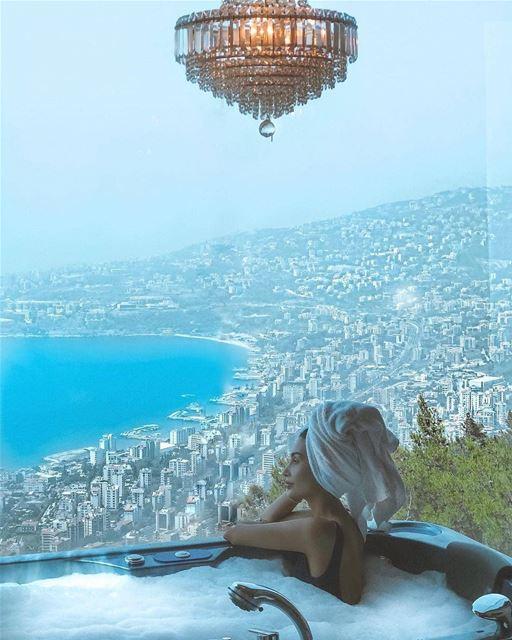 Breathe and unwind 💙📷 @aliceabdelaziz pauseforamoment starsighting ... (Bay Lodge)