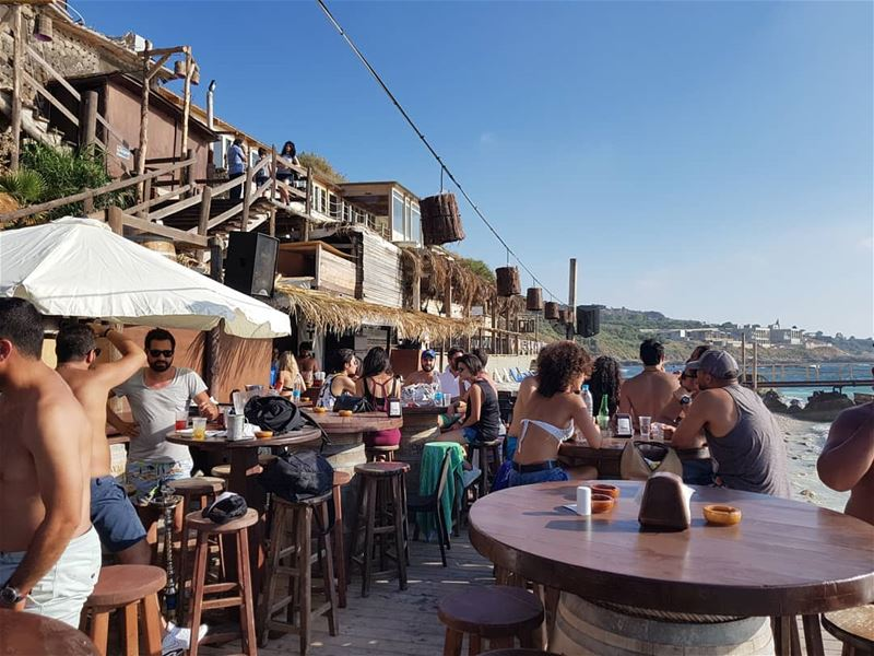 batroun @pierre.and.friends beach bar restaurant sea ... (Pierre & Friends)