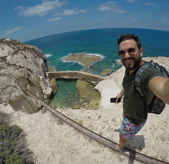 Visited Naqoura yesterday, located in the South of Lebanon right next to... (En Naqura, Liban-Sud, Lebanon)