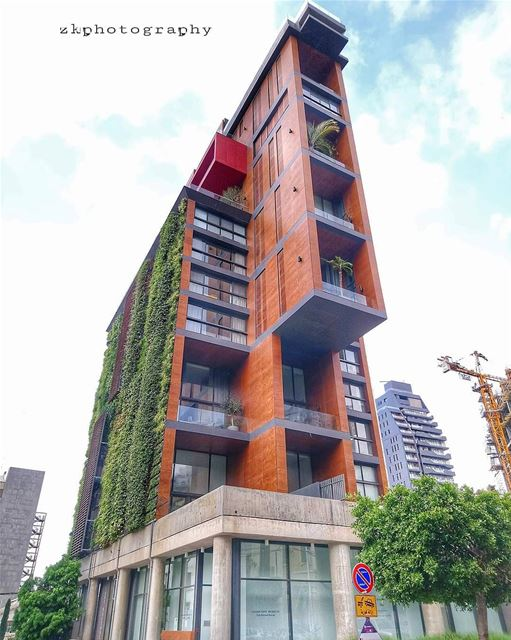 Modern Architecture in Gemayzeh 🇱🇧 * insta_lebanon ig_lebanon ... (Gemayzee)