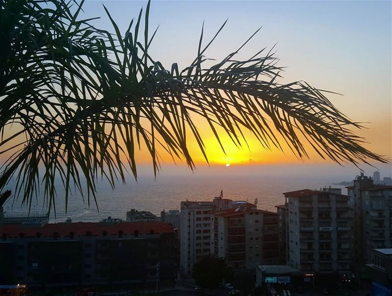 👋🏻👋🏻🌅 ........... Lebanon jounieh sunset dusk ... (Joünié)