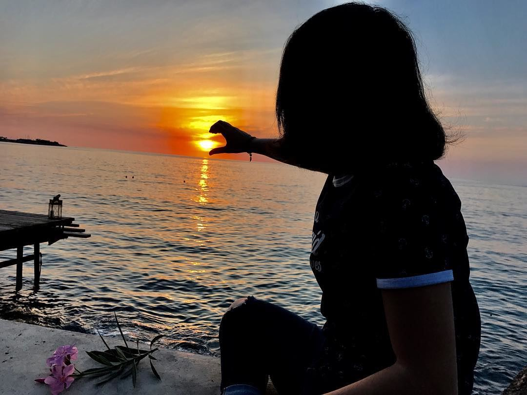 Every sunset tells a story....🌅✨••••••••••••••• sunset ... (جونية - Jounieh)