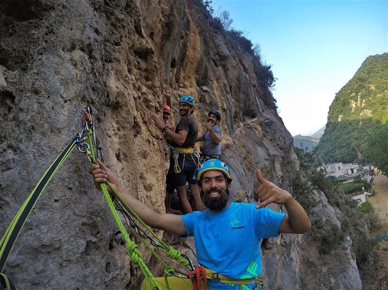 Our type of Rock Party climbing  training  lebanon  serbia ... (Beirut, Lebanon)