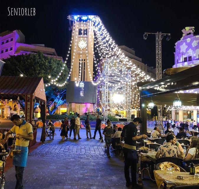 Ramadan Vibes in Lebanon 🇱🇧 beirut lebanon mylebanon downtownbeirut ... (Downtown Beirut)