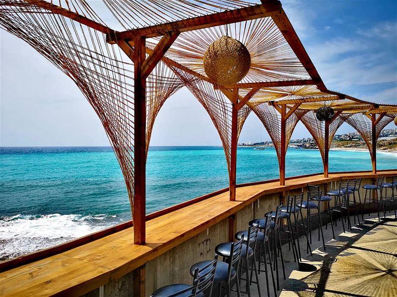 It was love at first sight the day I met the beach 🌊💙⛱️........... (Byblos - Jbeil)