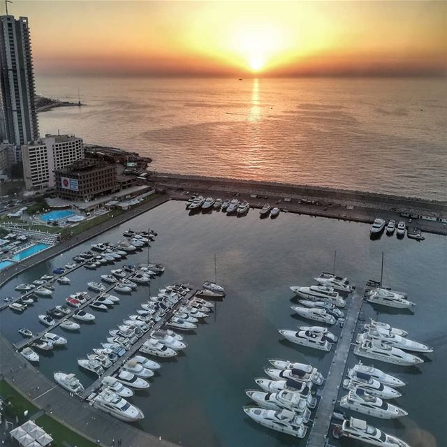 beirut  lebanon  view  sunset  summer  theroof  fsbeirut  gopro  hero5 ... (Four Seasons Hotel Beirut)