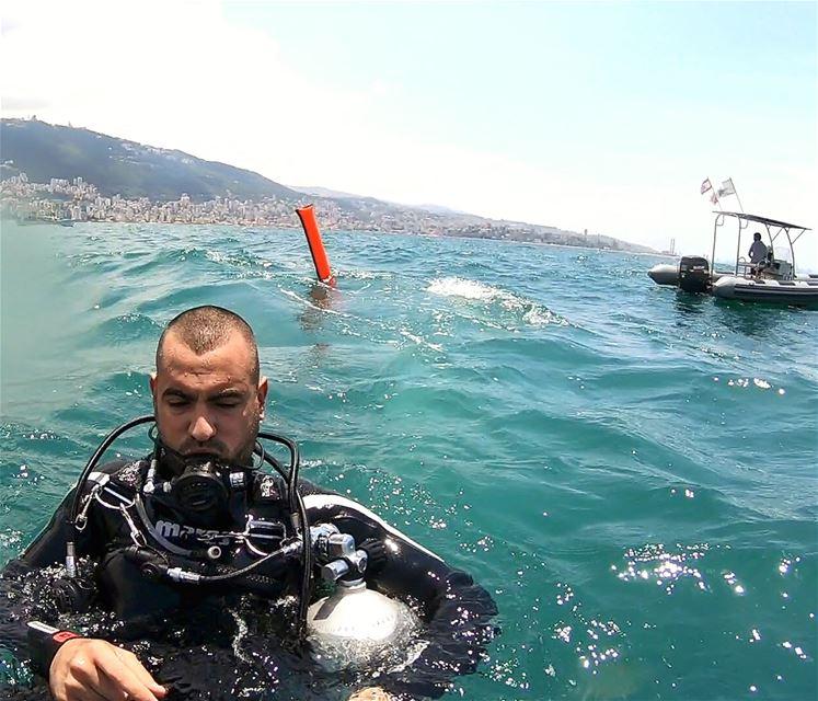 divingaddiction divers sidemount mediterranean bay octopus deepdive ... (Mediterranean Sea)