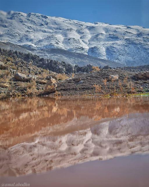 "when you find something to capture 👌..جبل الشيخ ""حرمون"" .. ....... (جبل الشيخ)"