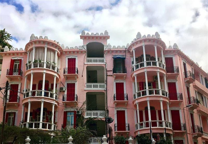 Pink......... travelawesome exploretheglobe worlderlust ... (Achrafieh, Lebanon)