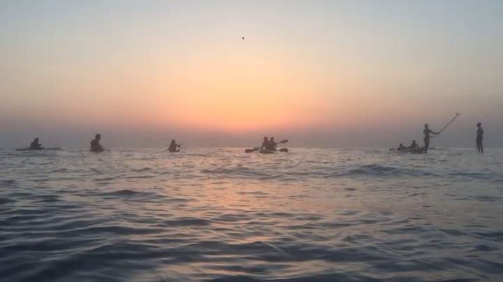 Tyre Event with @kayaklebanon • Sunset Saturday, part 1-B 🌅 🧡... sup... (مدينة صور - Tyre City)