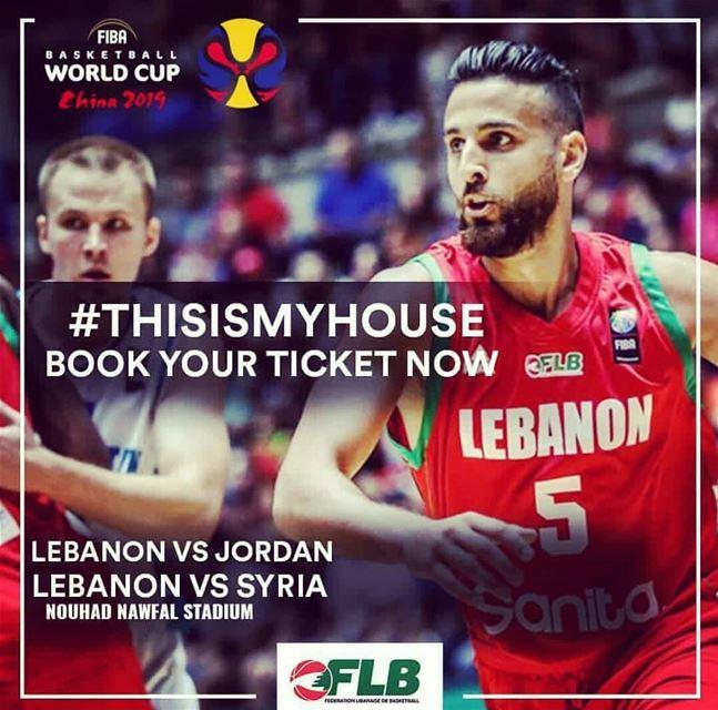 ThisIsMyHouse FibaWC Let's Do It!! 🇱🇧🔥💪 Lebanon ...