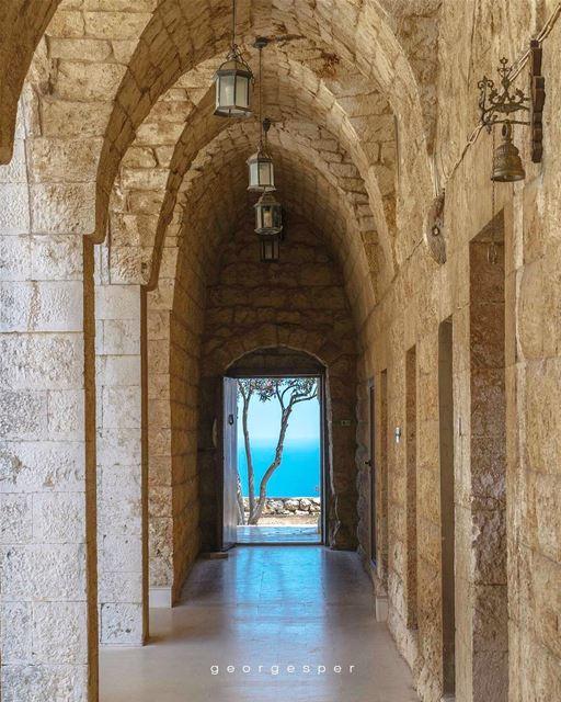 """ Our Lady of Light "" Monastery • Lebanon 🇱🇧..... photoshop ... (Hamâte, Liban-Nord, Lebanon)"
