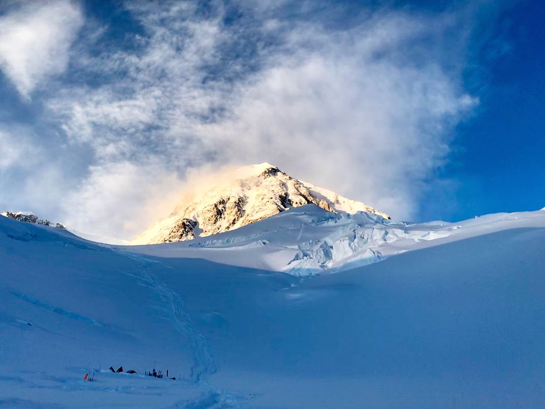 Denali the high one ... or Hell in Heaven as its takes a hell of a job to... (Alaska)
