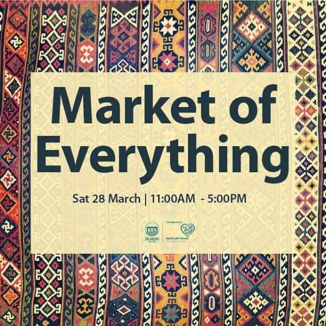 The sun is back and so are we! Join us on Saturday March 28 at @thearchivedubai in Safa Park for an awesome day at the Market of Everything and get your favorite art7ake wall art or tshirt! Dubai UAE
