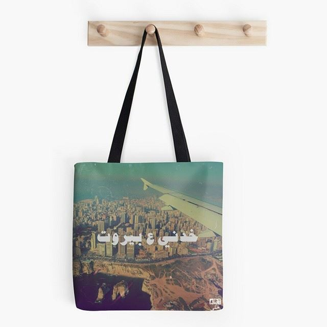 """Good morning ladies! Check out our awesome """"Take me to Beirut"""" tote bag available to order on Redbubble."""