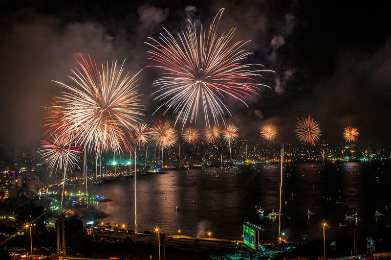 Jounieh Festival: Fireworks & Opening Ceremony  (2014)