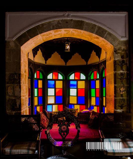 Beiteddine windows......... travelawesome exploretheglobe ... (Beiteddine Palace)