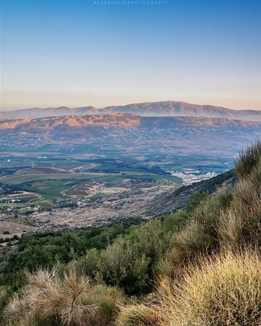 A beautiful summer evening | West Bekaa and Mount Hermon 2830m High as... (West Bekaa)