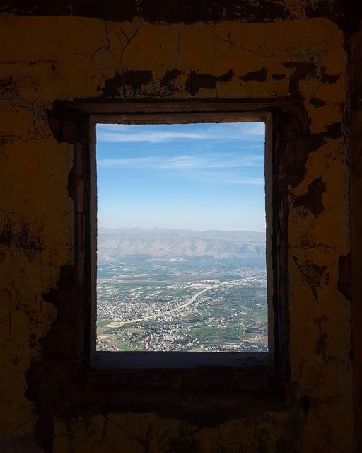 The Bekaa Valley [ F R A M E D ]..... hikinglebanon hikers hiking ... (Falougha, Mont-Liban, Lebanon)