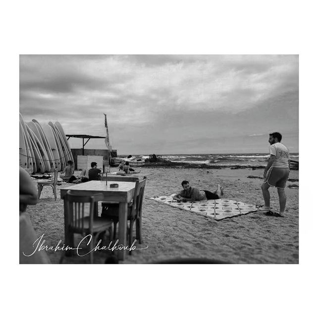 Windy summer day - ichalhoub in Batroun north Lebanon shooting with a...