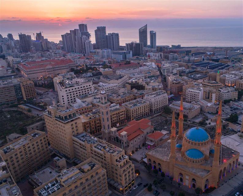 Eid Mubarak from BEIRUT .... AboveLebanon Lebanon LiveLoveBeirut ... (Beirut, Lebanon)