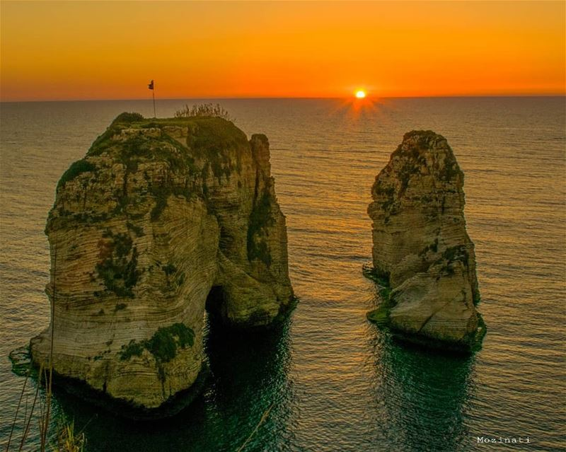 Make the horizon your goal, it will be always ahead of you 👌👌 =========== (Beirut, Lebanon)