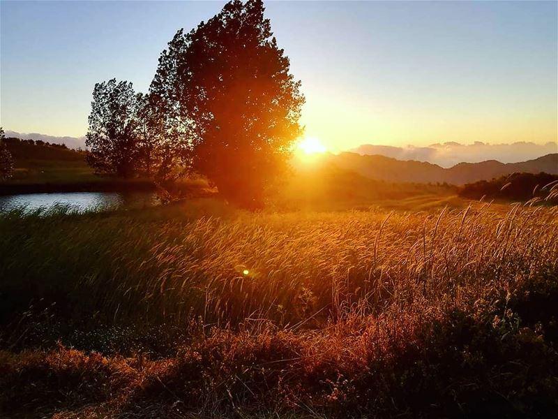 sunset 🌄 akoura kingsland civilisationsland liveloveakoura... (Akoura, Mont-Liban, Lebanon)