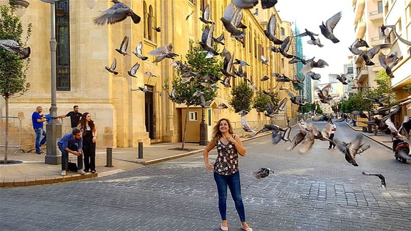 If you don't have weird moments, you've weird life........ lifetime ... (Downtown Beirut)