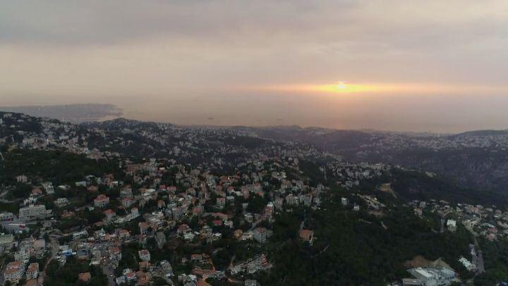 @livelove.bickfaya sunset flight rawfootage dronerazor dronefly ... (Bikfaïya, Mont-Liban, Lebanon)