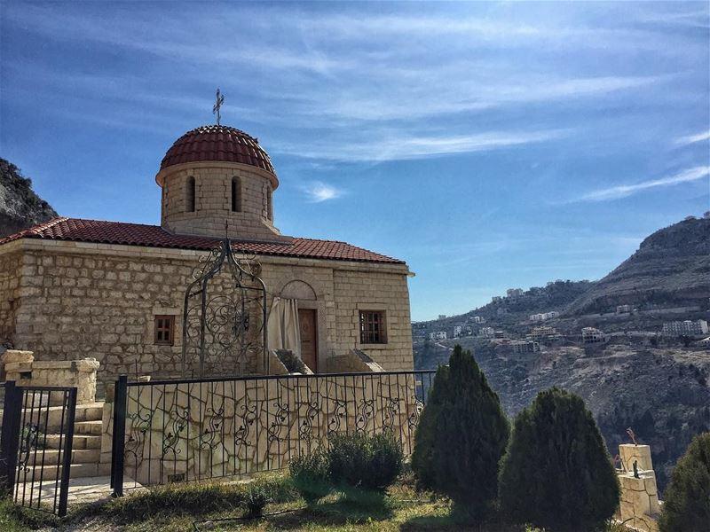 Your faith can move mountains ⛰ and you doubt can create them ... (Koûsba, Liban-Nord, Lebanon)
