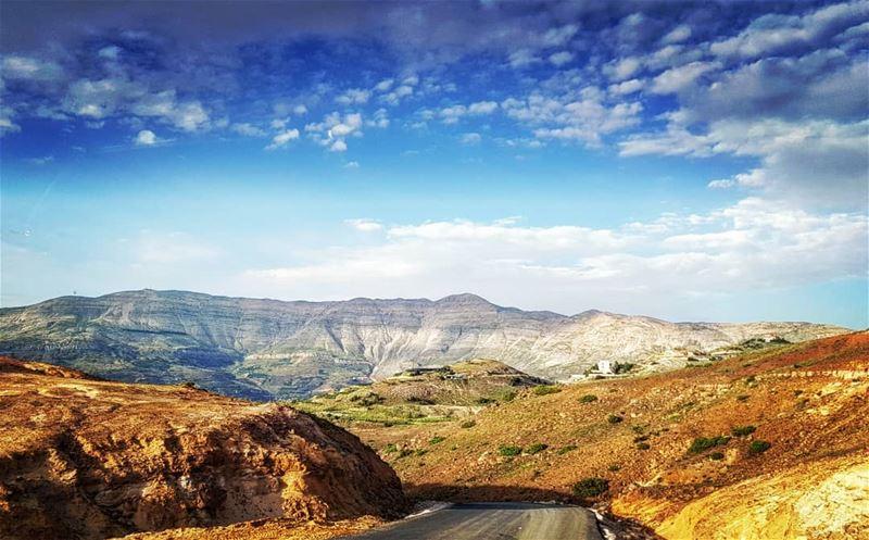 فازرع طريقك بالورود وبالسنا لا يحصد الانسان ان لم يزرع ايليا ابو ماضي ▪▪▪ (Sannin, Mont-Liban, Lebanon)