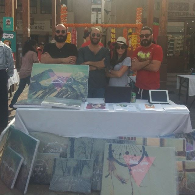 Art7ake live from The Market Of Everything in OldDubai. Dubai