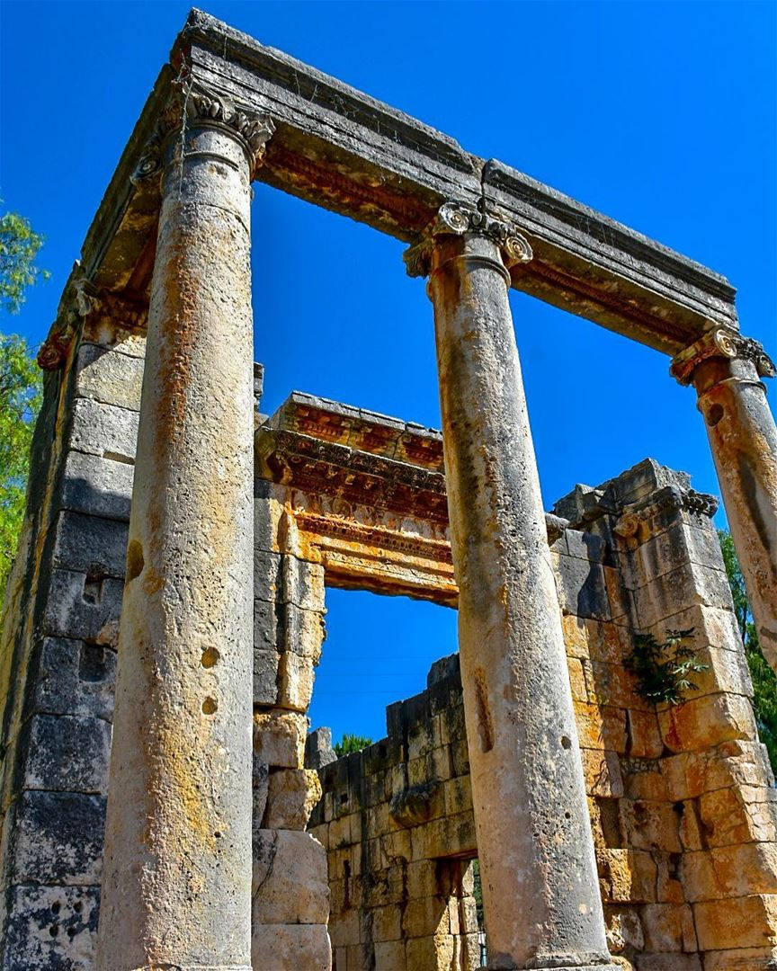 The Roman Temple of Bziza..Located in the Northern Village of Bziza, 85... (Bzîza, Liban-Nord, Lebanon)