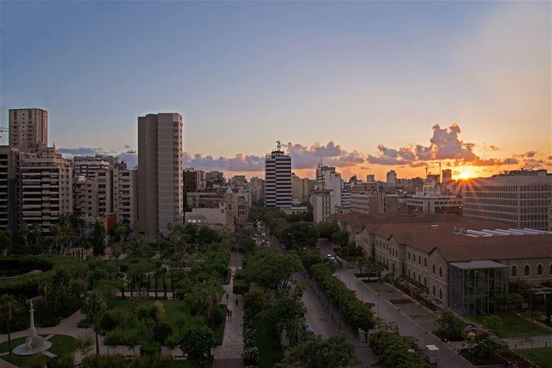instagood love beautiful art landscape sunset views lebanon ... (Beirut, Lebanon)