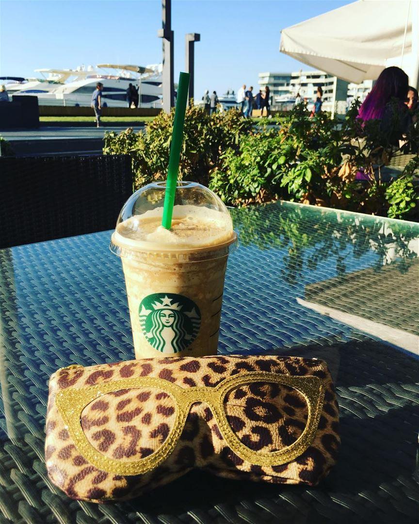 Coffee is a liquid hug for your brain hellosummer 💁🏽♀️☕️🕶☀️....... (Zaitunay Bay)