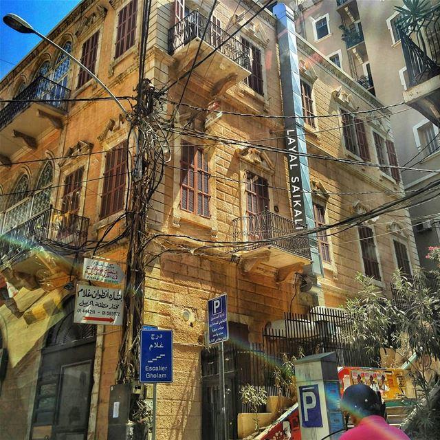 ᴄᴀʙʟᴇs ᴀʀᴇ ᴍʏ ᴄᴏᴜɴᴛʀʏ's sɪɢɴᴀᴛᴜʀᴇ ɪɴ ᴇᴠᴇʀʏ ᴘʜᴏᴛᴏ ✍️😅••••• lebanon... (Gemmayze Gem)
