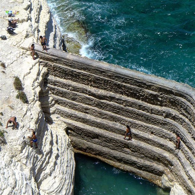 Paradise just landed in Naqoura... A coast that should be designated as a... (الناقورة / Al Naqoura)