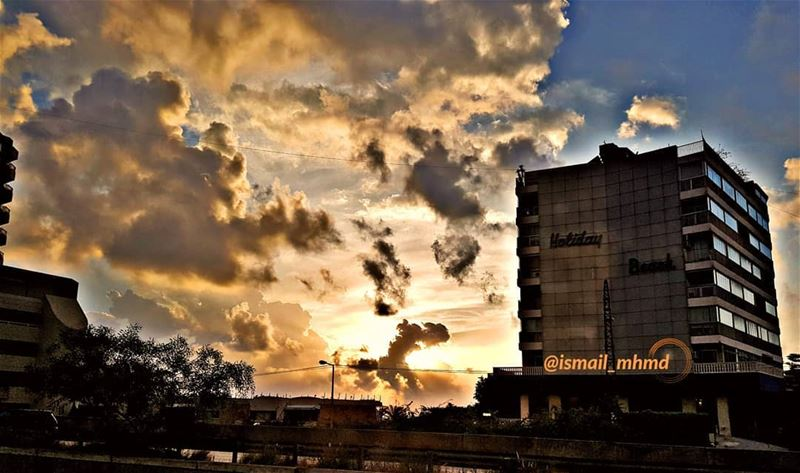 ~~☆☆ 📸1805131859 ☆☆~~ amazingview beuatifulsunset sunset_vision ... (Beirut, Lebanon)