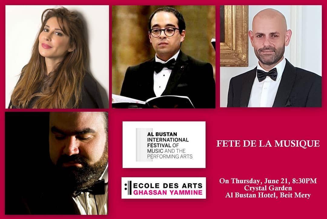 Ecole des Arts Ghassan Yammine & Al Bustan International Festival proudly...