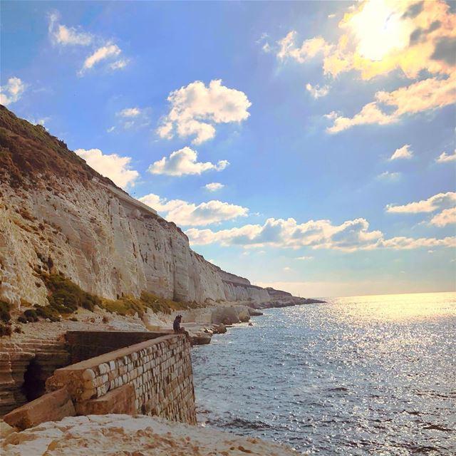 Italy ...its my beautiful lebanon 💙 naqoura jnoub_lebnen ... (Naqoura)